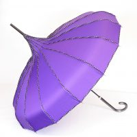 Purple Pagoda Parasol Brolly