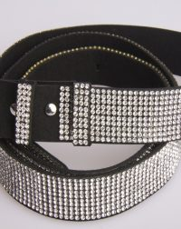 Diamante Wide Fashion Belt