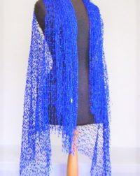 Royal Blue Lace Waistcoat
