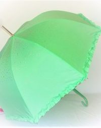 Light Green Diamond Parasol Brolly