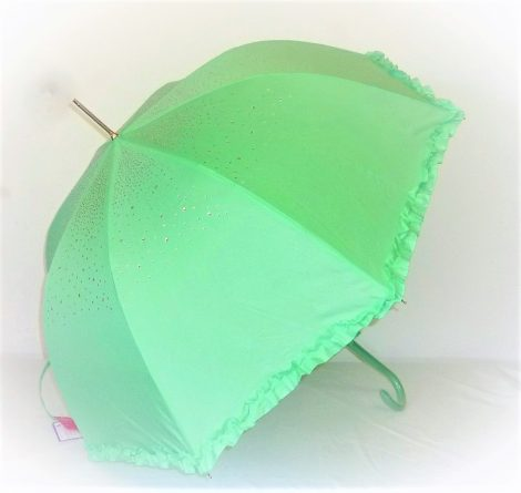 Light Green Diamond Parasol Brolly