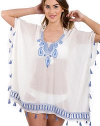 tear-drop-embroidered-kaftan-tassel-top-front