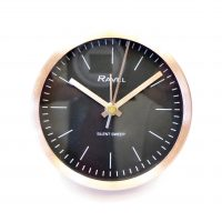 Copper Round Clock