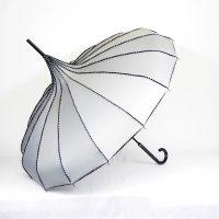 Grey Pagoda Parasol Brolly