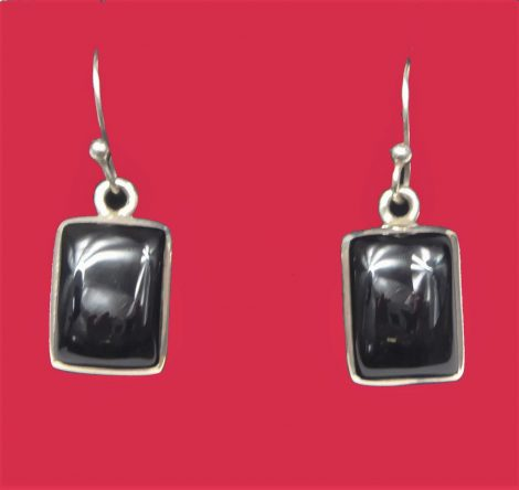 925 Black Onyx Earrings