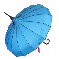 Teale Pagoda Parasol Waterproof Brolly
