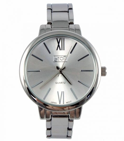 Ladies Eaton White Face with Silver Bracelet Watch