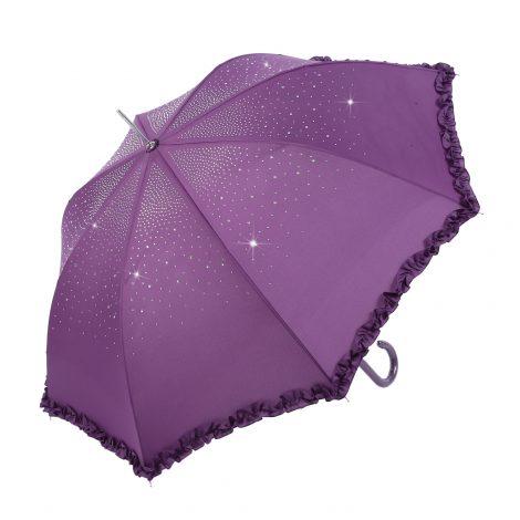 Purple Diamond Sparkle Brolly