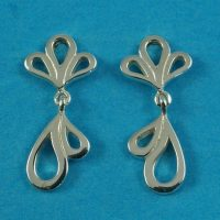 925 Fancy Drop Earrings