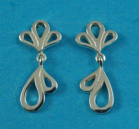 925 Fancy Drop Earrings