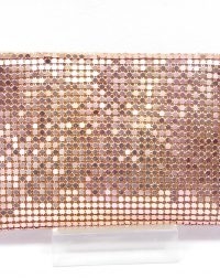 Rose Gold Chainmail Clutch