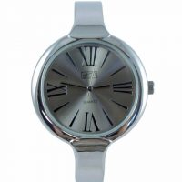 Ladies Eton Silver Bangle Watch