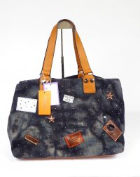 Blue Denim Canvas Weekender