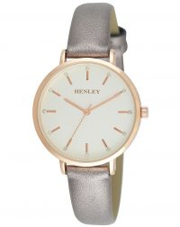 Henley Rose Gold Metallic Watch