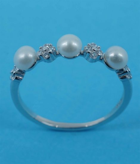 925 Freshwater Pearls Ring