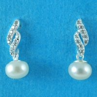 925 Silver Fresh Water Earrings