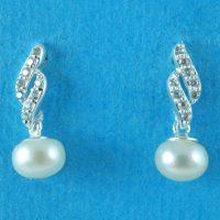 925 Silver Fresh Water Earrings