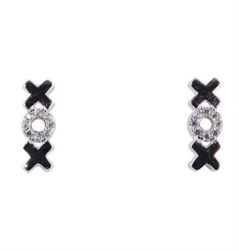 925 XOX Stud Earrings