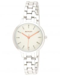 Henley Silver Rose Gold Highlights Watch