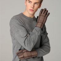 Douglas Brown Tartan Gloves