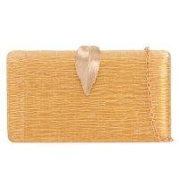 Gold Leaf Clutch Bag