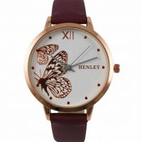 Ladies Henley Butterfly Watch