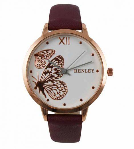 Ladies Henley Butterfly Watch