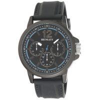 Black Big Multi Eye Watch
