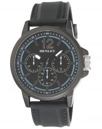 Black Big Multi Eye Watch