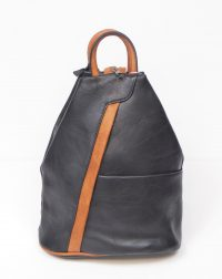 Black and Tan Rucksack