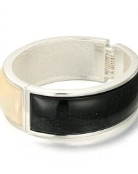 Black and White Bangle