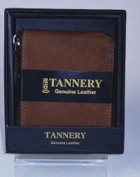 Brown Leather RFID Wallet
