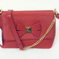 Red Kisskerry Shoulder Bag