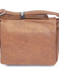 Brown Unisex Shoulder Bag