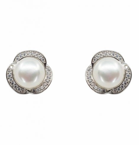 925 Freshwater Stud Earrings