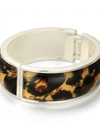 Brown Leopard Print Bangle
