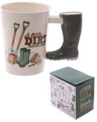 Wellington Boot Novelty Mug