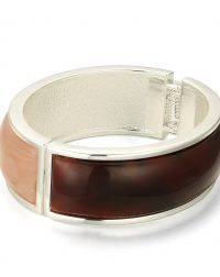 Beige and Brown Bangle