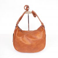 Brown Large Saddle Bag