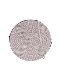 Diamante Round Clutch Bag