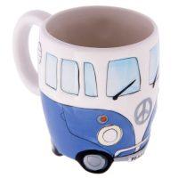 Blue Camper Van Mug