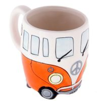 Orange Camper Van Mug