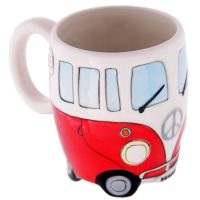 Red Camper Van Mug