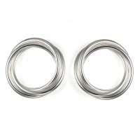 Silver Coil Layered Stud Earrings