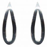 925 Silver Teardrop Stud Earrings