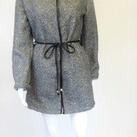Grey Boucle Jacket
