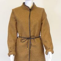 Light Brown Boucle Jacket