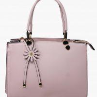 Pink Daisy Tote Handbag
