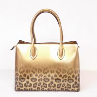 Gold Leopard Handbag