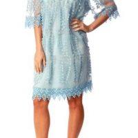 Light Blue Bardot Dress